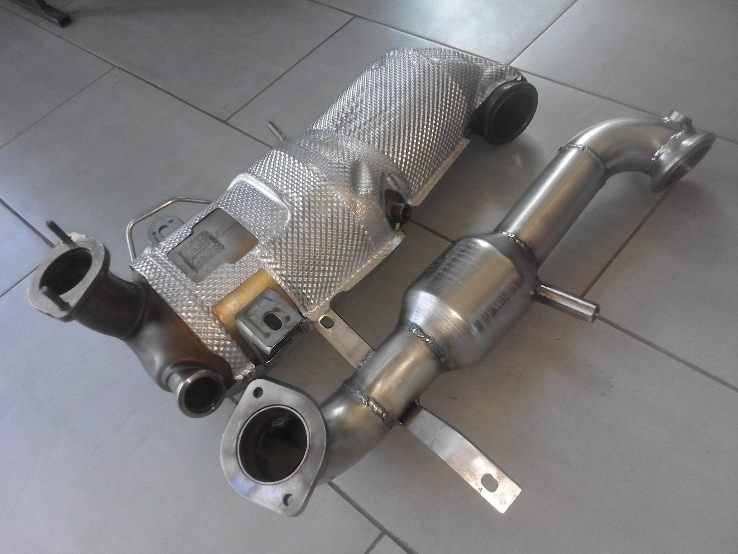 DOWNPIPE INOX FIAT ALFA LANCIA 1.6 MJET 105CV 120CV