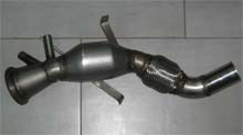 DOWNPIPE INOX MAGG.70MM BMW 325D 330D 330XD E91 E92 E93 3.0 TDI CAT 200 CELLE DPF